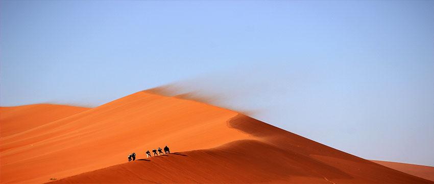 Desde Marrakech a las Dunas Rojas